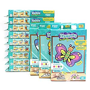 Imagimake Fleximos Art and Craft Kit (Single Design Pack) for Clay Modelling - Return Gift Combo for Birthday - Age 3 Years and Above - 12 Piece Assorted Design Set
