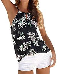 Camisetas sin mangas de encaje para mujer, LILICAT® Chaleco de verano con blusa sexy