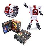 XuBa Creativo Manuale Robot Giocattoli Bambini Orologio elettronico intelligenza Sviluppo Toy Birthday Christmas Xmas Gift Present per Bambini White Square Lid