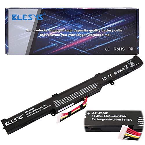 BLESYS 14.4V/2600mAh A41-X550E Ersatz für Laptop Akku ASUS F751L F751LA F751LAV F751LB F751LD F751LDF751LJ F751LK F751LN F751LX F751M F751MD F751MA F751MJ F751NA F751S F751SA F550 F550D F550DP Akku -