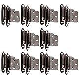 10 Paar selbst geschlossen Automatikscharnier Scharniere Möbelscharnier Möbelband Türscharnier CH197AC antikes Kupfer