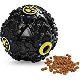 Pets Empire Treat Training Toy Squeaky Dispenser Ball For Dogs (12.5 Cm)