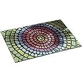 Rainbow Doormat Floor Door Mat Rug Weatherproof Slip-Resistant Bright. Measures 38.5 x 58.5cm