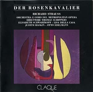 STRAUSS: DER ROSENKAVALIER - SCHIPPERS, SCHWARZKOPF- CLAQUE/ RARE 3 CD SET/ MET 19/12/1964