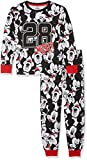 Mickey Long Ensemble de Pyjama, Multicolore (Black/White/Red), 4 Ans (Taille...