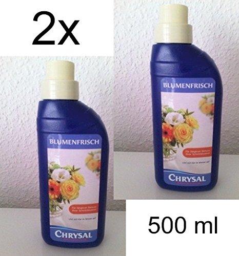 Blumenfrisch 2 x 500 ml Chrysal Original