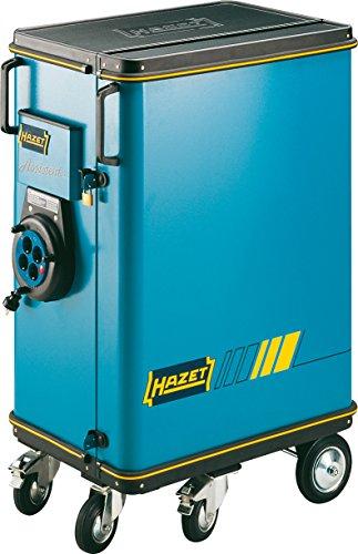 Hazet Werkstattwagen Assistent 174 flach: 4x 60 Schubladen hoch: 1x 125x519x342 mm ∙ Höhe x Breite x Tiefe: 1100 x 735 x 560, mehrfarbig