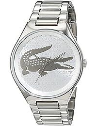 Lacoste Damen-Armbanduhr Valencia Analog Quarz Edelstahl 2000931