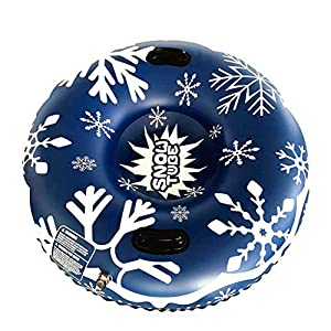 Aufblasbarer Skifahrer – Aufblasbarer 47″ Schwerer Schlitten für Kinder und Erwachsene – Winter Outdoor EIS und Schnee Freizeitausrüstung – Weihnachten, Cyber Montag, Schwarzer Freitag