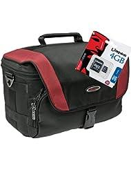 Bag Adventure M para Cámara Fotográfica con tarjeta SD de 4GB para Canon EOS 1300d 750d 600d 100d 1d 5d y otros