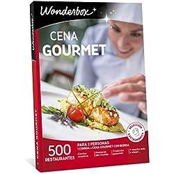 WONDERBOX Caja Regalo -Cena Gourmet- 500 restaurantes únicos para Dos Personas