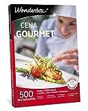 Wonderbox Caja Regalo - CENA GOURMET - una comida o cena gourmet con bebida a elegir entre 500 restaurantes para dos personas.