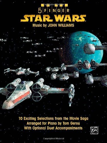 5 Finger Star Wars: 10 Exciting Selections from the Movie Saga Arranged for Piano with Optional Duet Accompaniments by John Williams (11-Jan-2008) Sheet music