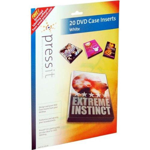 Pressit Custodie per DVD, confezione da 20