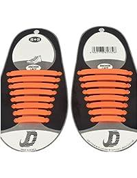 Gazechimp 1 Set Cordones Planos de Silicón Impermeable para Zapatos de Deportes Moda ShoeLaces - Blanco 7Ng8iXOniy