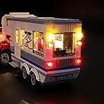 LIGHTAILING-Set-di-Luci-per-City-Pickup-e-Caravan-Modello-da-Costruire-Kit-Luce-LED-Compatibile-con-Lego-60182-Non-Incluso-nel-Modello
