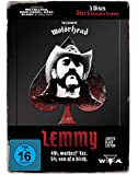 LEMMY - The Movie (Black Edition im LTD Steelbook) [Limited Edition] [3 DVDs]