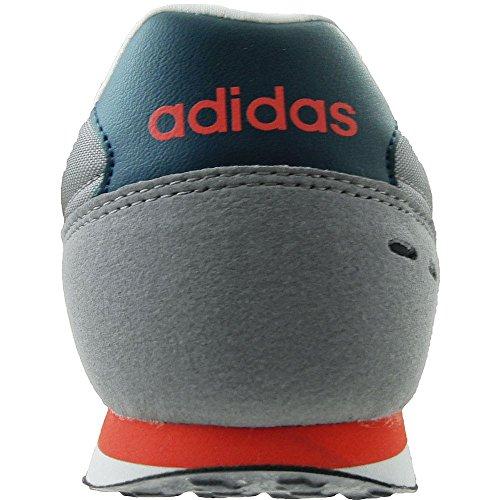 Chaussures De Course À Pied Adidas Neo City Racer, Gris / Blanc Pour Homme