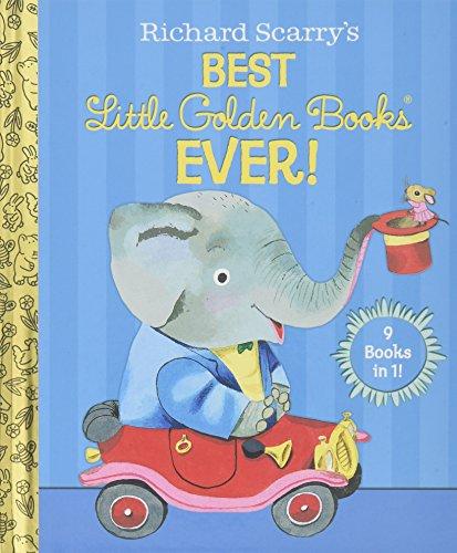 Richard Scarry's best Little Golden Books ever! : 9 books in 1