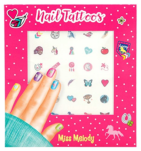 Depesche 4463 - Nagel Tattoos Miss Melody (Die Tattoo-lady)
