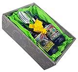 Garten Geschenk-Set mit Spaten- und Harkenkugelschreiber im Präsentkarton