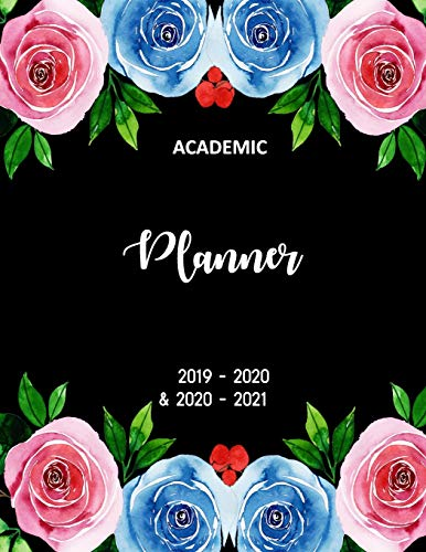 Academic Planner 2019-2020 and 2020-2021: 2 Year academic and 3 year calendar Daily, Weekly and Monthly Calendar and Planner Academic Year July 2019 - ... academic planner July2019 - June2021, Band 3)