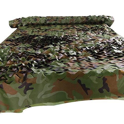 Markisen GGjin Tarnnetz, Woodland Desert Tarnnetz Camping Versteckte Sonnenschutzdekoration Halloween Weihnachten (Grün) (Size : 2x8m)