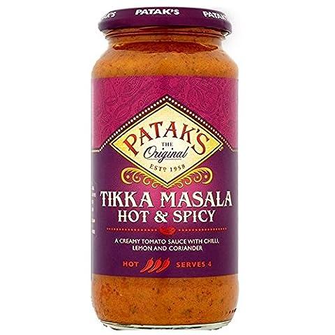 Pataks Hot & Spicy Tikka Masala 6X450G