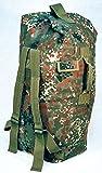 Bundeswehr Seesack Wäschetasche Rucksack in Schwarz, Oliv oder Flecktarn (Flecktarn)