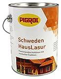 Pigrol Schwedenhauslasur 5L palisander Dickschichtlasur für alle Hölzer im Außenbereich