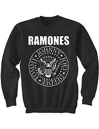 Ramones - Classic Seal Crew Neck Sweatshirt
