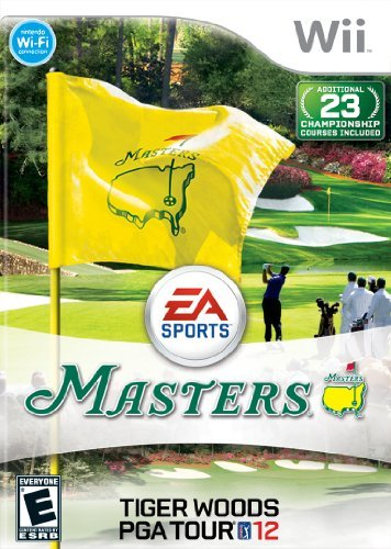 Tiger Woods PGA TOUR 12: The Masters - Nintendo Wii by Electronic Arts