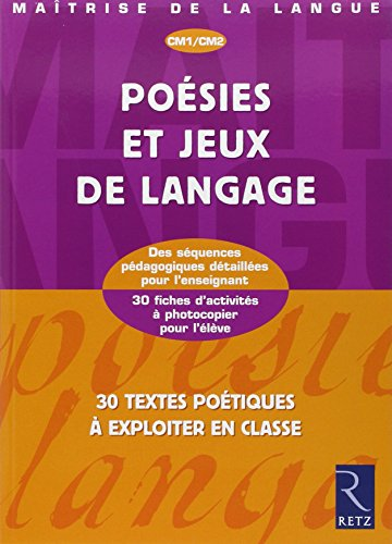 Poésies et jeux de langage CM1/CM2 par Christian Lamblin