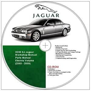 Jaguar Xj8 X350 Workshop And Parts Manual 2003 2009 Amazon Co Uk Software