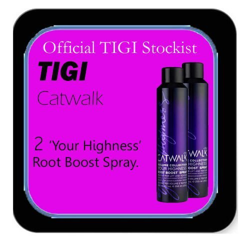 Tigi Catwalk - *Set of 2* 'Your Highness' Root Boost Spray For Lift and Texture - (255ml each). by Tigi Catwalk -