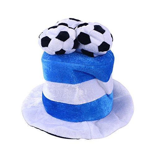 BESTOYARD Fußball Fan Hut Mütze mit Flaggen Fußball Party WM-Hüte Kappen Fußballhut Argentinien