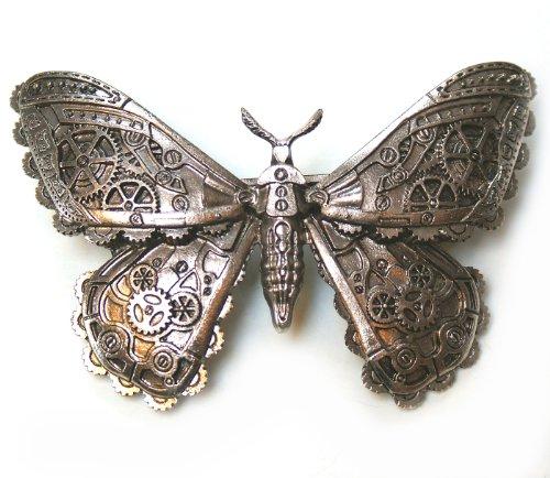 Broche para el pelo con forma de mariposa