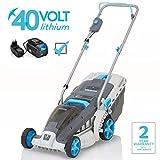 Swift 40 V EB137CD2 Cordless Digital Wide Lawn Mower Cutting Width 37 cm