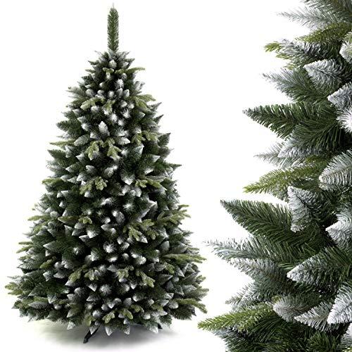 AmeliaHome 07874 120 cm Künstlicher Weihnachtsbaum PVC Tannenbaum Christbaum Kiefer Diana Weihnachtsdeko