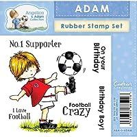 Crafters Companion Angelica e Adam timbro di gomma–Adam