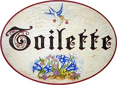 Kaltner Präsente-Placa madera envejecida puerta