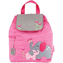 Stephen Joseph Childrens Quilted Backpacks Mochila Infantil, 33 cm, 2 Liters, Rosa (