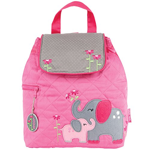 Stephen Joseph Children's Quilted Backpacks Kinder-Rucksack, 33 cm, 2 liters, Pink