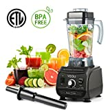 Smoothie Maker Blender, YEGU 2000W High-Speed Jug Blenders with 6 Sharp Stainless Steel