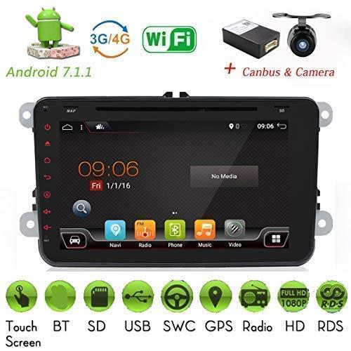 2G-RAM Android 7.1 4-Core WIFI modelo coche reproductor de DVD GPS 2...