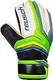 Reusch Kinder Serathor RG Easy Fit Junior Torwarthandschuhe, Green Gecko/Dazzling Blue, 5.5