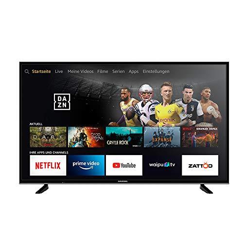 Grundig Vision 7 - Fire TV Edition (55 GUB 7060) 139 cm (55 Zoll) Fernseher (Ultra HD, Alexa-Sprachsteuerung, HDR) schwarz