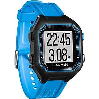 Garmin Forerunner 25 Large GPS Running Watch, Black/Blue