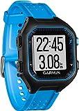 Garmin Forerunner 25 - Montre de Running Connectée - Noir et Bleu (Large)