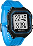 Garmin Forerunner 25 Large GPS Running Watch, Black/Blue